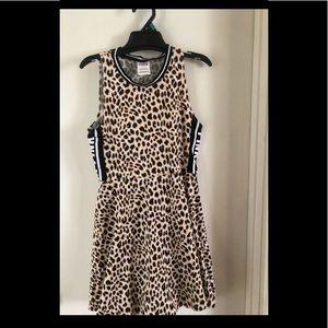PINK Size Small Leopard Print Dress